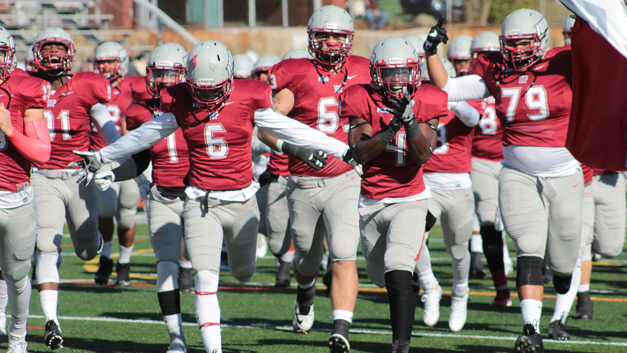 No 11 Iup Football Takes Care Of Bloomsburg On Senior Day Awaits