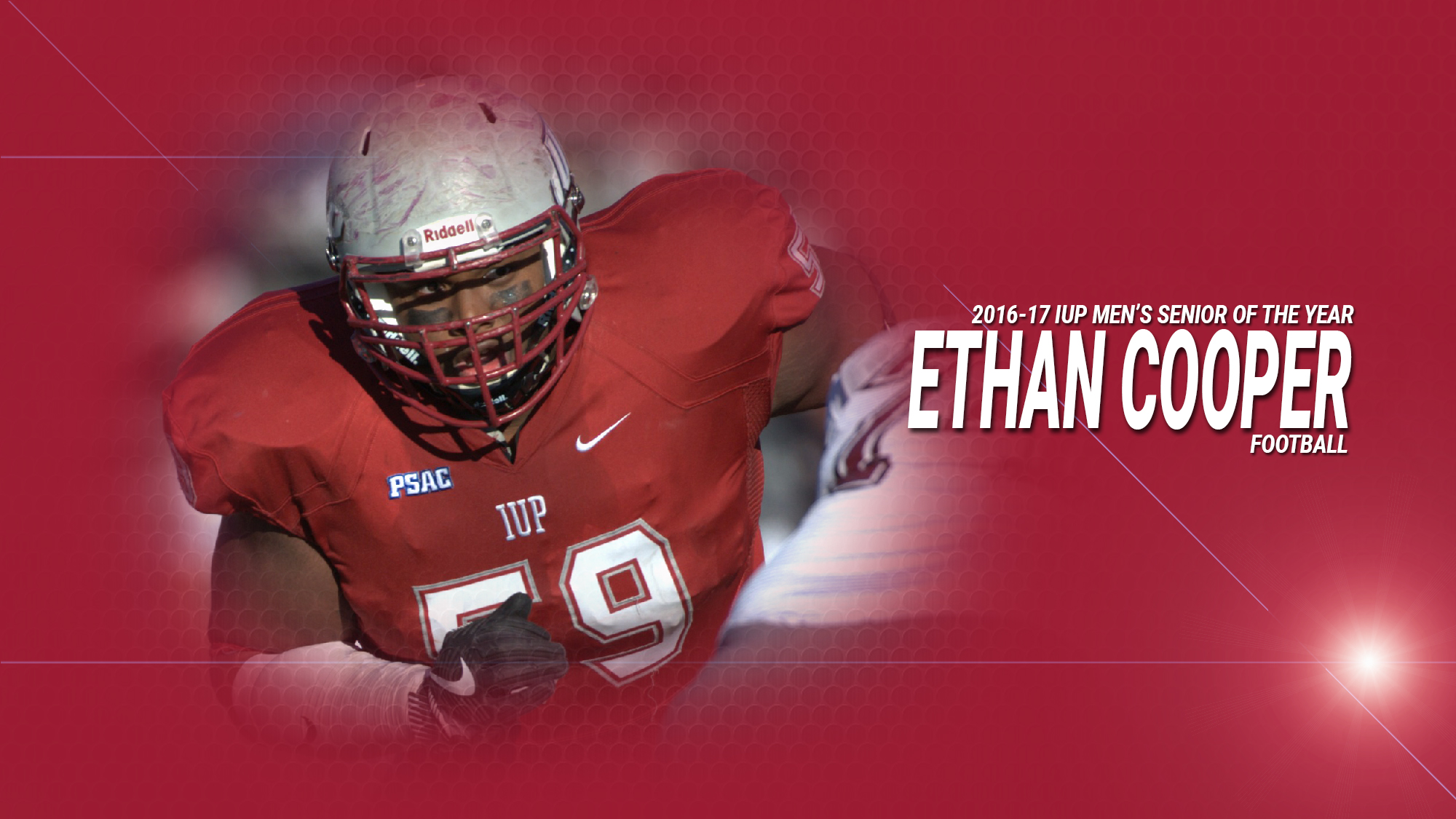 huge discount 7c32a f131f Ethan Cooper named IUP Men's Senior of the Year - Indiana ...